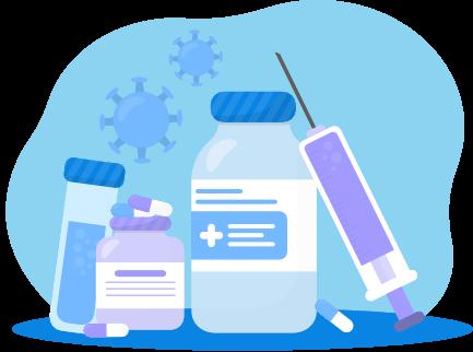 Farmaci sperimentali concept