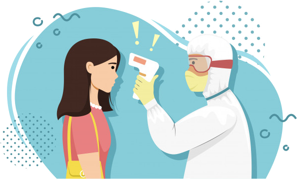 Sintomi del Covid-19 - Misurazione febbre